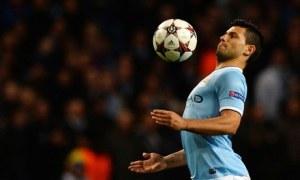 Manchester City Sergio Agüero FC Viktoria Plzen